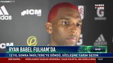 Ryan Babel Fulham'da 12 yıl sonra İngiltere'ye döndü, sözleşme yarım sezon
