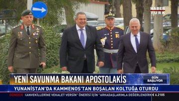 Yeni Savunma Bakanı Apostolakis: Yunanistan'da Kammenos'tan boşalan koltuğa oturdu