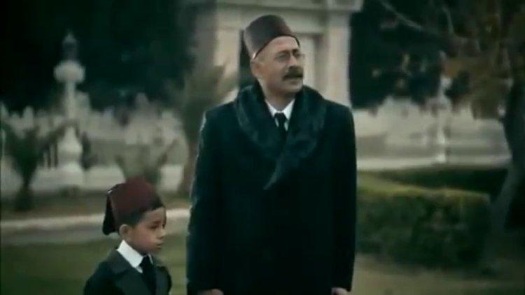 """Türk Tarih Kurumu tarafından çektirilen """"Ayrılış"""" filmi."""