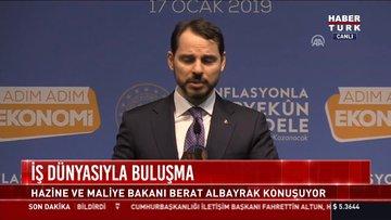 İş Dünyasıyla buluşma: Hazine ve Maliye Bakanı Berat Albayrak konuşuyor