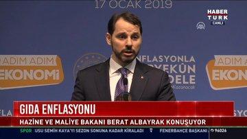 Enflasyonla mücadele: Hazine ve Malliye Bakanı Berat Albayrak konuştu
