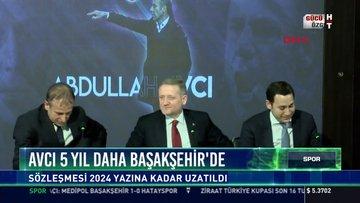 Avcı 5 yıl daha Başakşehir'de: Sözleşmesi 2024 yazına kadar uzatıldı