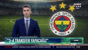 """""""3-4 transfer yapacağız"""": Ali Koç: Şu an isim verebilirim ama imza atılmalı"""