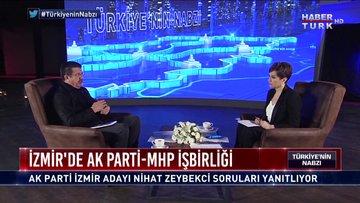 Türkiye'nin Nabzı - 16 Ocak 2019 (Ak Parti İzmir Büyükşehir Belediye Başkan Adayı Nihat Zeybekci)