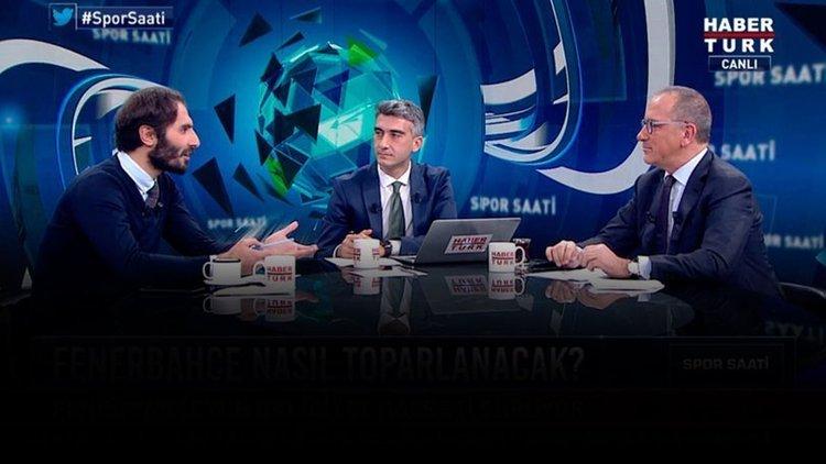 Fatih Altaylı, Hamit Altıntop, Spor Saati'nde spor gündemini değerlendirdi 1. bölüm