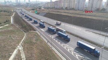 THY, İstanbul Havalimanı'na taşınmaya başladı... Bugün 35 TIR malzeme taşınacak