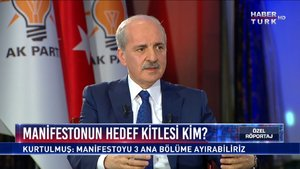 Özel Röportaj - 31 Ocak 2019 (AK Parti Genel Başkanvekili Numan Kurtulmuş)
