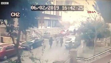 Kartal'da 8 katlı binanın çökme anı