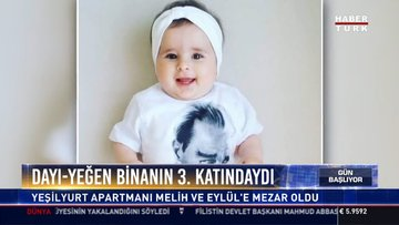 Dayı-yeğen birlikte uğurlandı: Melih Aydın 16, yeğeni Eylül henüz 1,5 yaşındaydı