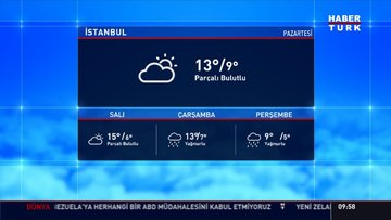 Meteoroloji'den Marmara için 'şiddetli fırtına' uyarısı
