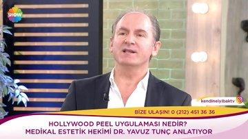 Hollywood peel uygulaması nedir?