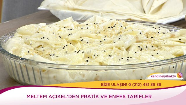 Fırın Makarnadan Peynirli Börek