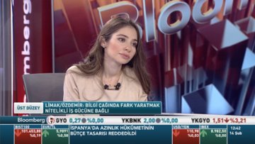 Ebru Özdemir Bloomberg HT'de soruları yanıtladı