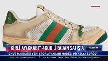"""Gucci'nin yeni tanıttığı """"Kirli Ayakkabı"""""""