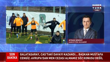 Galatasaray, CAS'taki davayı kazandı
