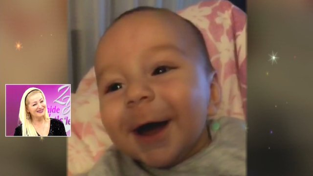 Zahide Yetiş'in oğlu ilk kez canlı yayında!