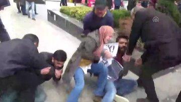 Taciz iddiasına polisten görüntülü yanıt