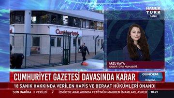 Cumhuriyet Gazetesi davasında karar: 18 sanık verilen hapis ve beraat hükümleri onandı