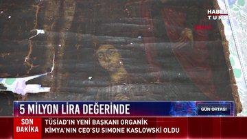 Hazreti İsa'nın 13. yüzyıla ait çarmıh tablosu ele geçirildi!