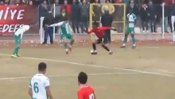 Maradona gibi attı!