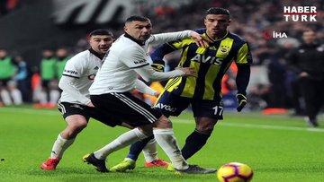 Beşiktaş - Fenerbahçe maçından kareler