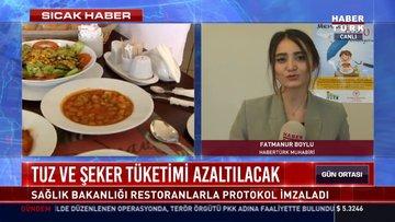 Masalardan tuzluklar kalkacak: Sağlık Bakanlığı restoranlarla protokol imzaladı
