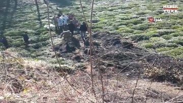 Çay bahçesinde kendi yaktığı ateşte yanarak öldü