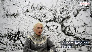 Gülfem Kessler 'Yeni Sen' isimli sergisiyle sanatseverlerle buluştu