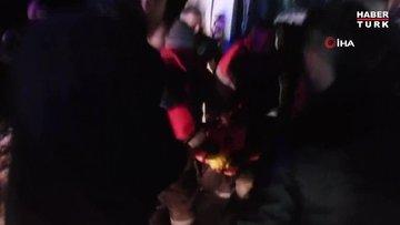 Yolcu otobüsü devrildi: 3'ü ağır çok sayıda yaralı