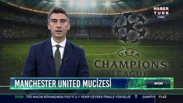 Manchester United mucizesi: Son dakika penaltı golüyle PSG'yi 3-1 yenip çeyrek finalde