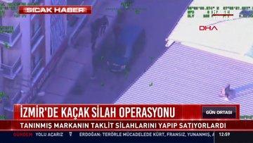 İzmir'de kaçak silah operasyonu: Tanınmış markanın taklit silahlarını yapıp satıyorlardı