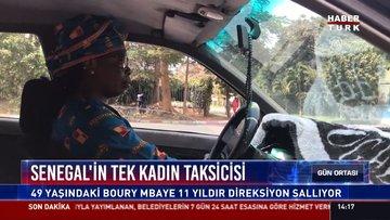 Senegal'in tek kadın taksicisi: 49 yaşındaki Boury Mbaye 11 yıldır direksiyon sallıyor