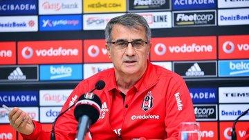 A Milli Takım'la anlaşan Beşiktaş Teknik Direktörü Şenol Güneş, basın toplantısı düzenledi