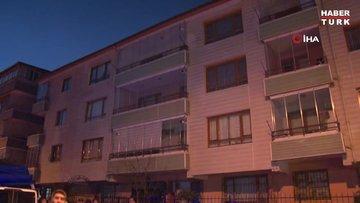 Ankara'da çökme tehlikesi olan bina tahliye edildi
