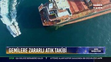 Gemilere havadan zararlı atık takibi