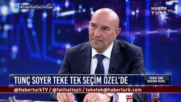 Teke Tek Seçim Özel - 10 Mart 2019 (CHP İzmir Büyükşehir Belediye Başkan Adayı Tunç Soyer)