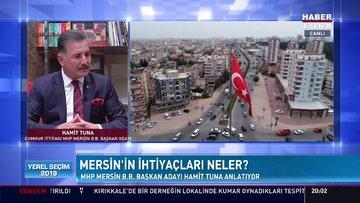 Yerel Seçim 2019 - 10 Mart 2019 (Cumhur İttifakı-MHP Mersin Büyükşehir Belediye Başkan Adayı Hamit Tuna)