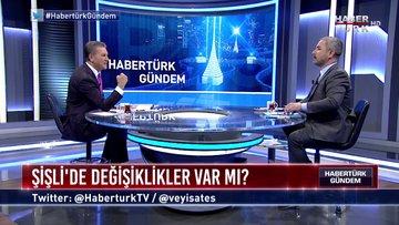 Habertürk Gündem - 12 Mart 2019 (DSP Şişli Belediye Başkan Adayı Mustafa Sarıgül, CHP Grup Başkanvekili Engin Altay)