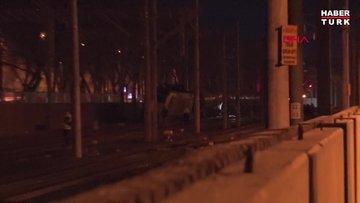 Son dakika... Ankara'da yük treninin vagonları raydan çıktı!