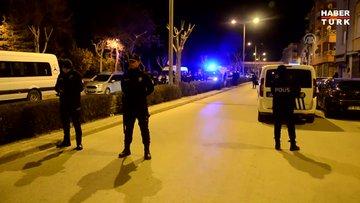 Çaycıyı bıçaklayan şüpheli, boynuna bıçak dayayıp polise direndi