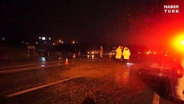 Adıyaman'da iki otomobil kafa kafaya çarpıştı: 1 ölü, 2 yaralı