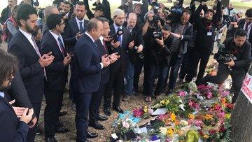 Oktay ve Çavuşoğlu, El Nur Camisi'ni ziyaret etti