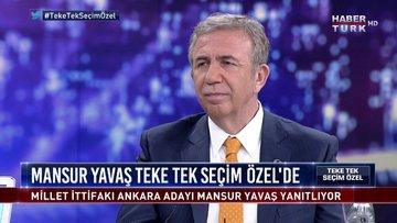 Teke Tek Seçim Özel - 17 Mart 2019 (Millet İttifakı-CHP Ankara Büyükşehir Belediye Başkan Adayı Mansur Yavaş)