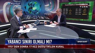 Spor Saati - 18 Mart 2019 (Türk futbolunda yabancı sınırı ne olmalı?)