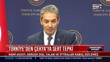 Türkiye'den Çekya'ya sert tepki
