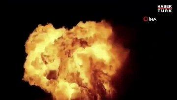 Ukrayna'da benzin istasyonunda patlama