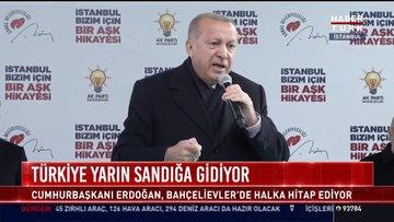 Cumhurbaşkanı Erdoğan Bahçelievler'de
