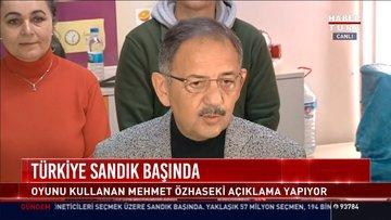 AK Parti Cumhur ittifakı adayı Mehmet Özhaseki açıklamalarda bulundu