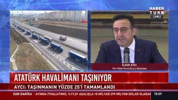 Atatürk Havalimanı taşınıyor: Avcı: Taşınmanın yüzde 25'i tamamlandı