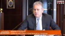 İzmir Ticaret Odası Yönetim Kurulu Başkanı Mahmut Özgener